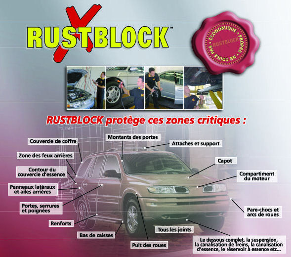 Rustblock® does more than just block corrosion! image